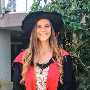 Tori Reynolds graduation